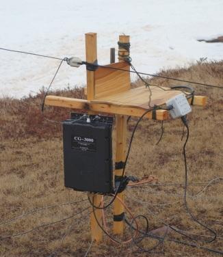 264 ft sloper feed point
