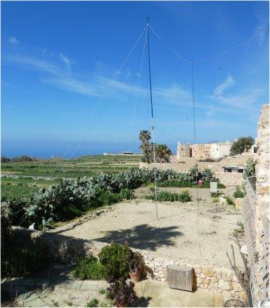 9H3ET-Antennas