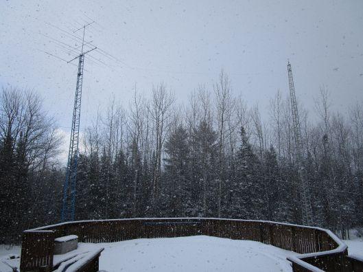 VE9CB antennas