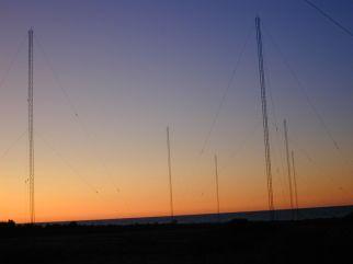 2019 VY2ZM 80m Array After Sunset